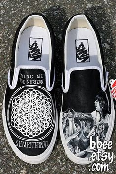 Bring Me The Horizon Vans