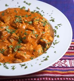 Chicken Tikka Masala ~ check out this website, she has seriously good asian, Indian foods