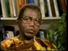 Nigerian author Chinua Achebe is interviewed by Bill Moyers.