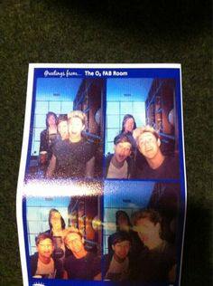 Niall, Louis, and Luke in a photo booth I'm dyinggg