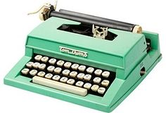 Vintage typewriter. Perhaps the answer to writer's block?