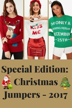Christmas is near! 🎅🎄 So check out our favourites from the Christmas Jumpers - 2017 collection here - http://www.stylebankbyb.com/fashion/special-edition-christmas-jumpers-2017