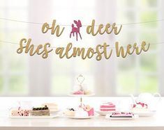 Baby Shower Decoration Ideas for A Girl Awesome Deer Baby Shower Source link Baby Shower Camo, Baby Girl Shower Themes, Girl Baby Shower Decorations, Diaper Shower, Hunting Baby Showers, Deer Baby Showers, Oh Deer, Baby Deer, Deer Girl