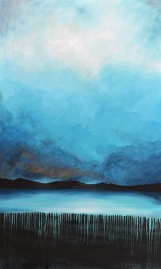 Tranquil Morning Edge Of Tomorrow, Landscape, Canvas, Painting, Art, Tela, Art Background, Scenery, Painting Art