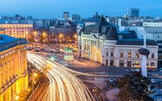 Photograph Bucharest by Cristian Vasile on Capital Of Romania, Palace Of The Parliament, Beautiful Park, City Break, Eastern Europe, Night Photography, Optimism, Places To Visit, Mansions