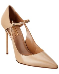 Aquazzura, Leather Design, Leather Pumps, Women's Pumps, Smooth Leather, Ankle Strap, High Heels, Product Launch, Fashion Design