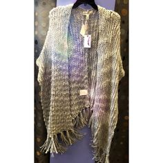 Jessica Simpson Shrug!  Super cute shrug, from a maternity store, but fits all! Brand new with tags!! Since its brand new, I'd like to get what's it worth. Jessica Simpson Sweaters Shrugs & Ponchos