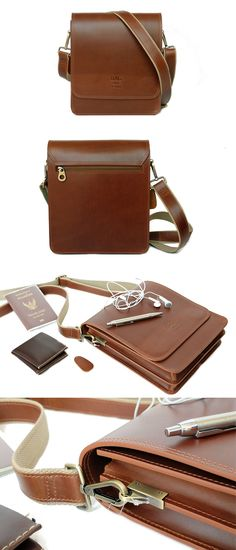 Crossbody Bag Castle Town Whisky Pull up Multiple Compartments inside Aniline Oil pull up leather Leather Bags Handmade, Leather Craft, Bag Men, Leather Working, Whisky, Fashion Bags, Leather Men, Purses And Bags, Crossbody Bag