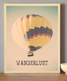 'Wanderlust' Print | Daily deals for moms, babies and kids