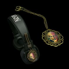 Headphones with attachable pendants - LIMITED EDITION -  http://noddders.com/product/horror-comics-character-headphones/  -------- #subculture #dark #victorian #underground #retro #vintage #comics #cartoon #evil #devil #joker #villain #monster #vampire #dracula #creepy #goth #gothic #punk #alternative #collection #collectibles #style #stylish #macabre #anime #music #noddders #headphones