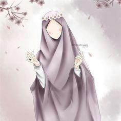 People Illustration, Illustrations, Muslim Girls, Muslim Women, Muslim Pictures, Hijab Drawing, Islamic Cartoon, Anime Muslim, Hijab Cartoon