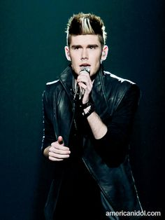 """Colton performs """"Broken Heart"""" by White Lion at the Top 11 performance show."""