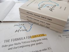 Maths 4 Africa study guides...The formula for success! #maths4africa #mathsisfun #easyaspi @maths4africa
