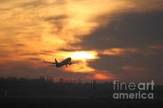 Burning Sky Like A Whole -by Angelika Kimmig