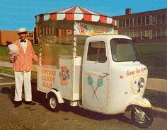 "Cotton Candy Mini Truck-""How cute!"""