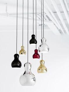Creative DIY Lamp Designs : Creative DIY Lamp Designs With Glossy Colorful Pendant Lamps
