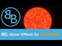 Blender Tutorial [HD]: (SUN) Glow effects. - YouTube