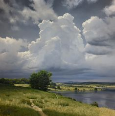 I love Renato Muccillo's clouds. I have a Pinterest Board with his work.