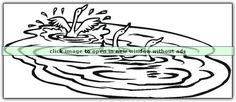 Pond, River and Lake free coloring pages to print and download.  Great for a rainy day or a long car trip!  Click the picture to get a printout! pondriverlake (9).png