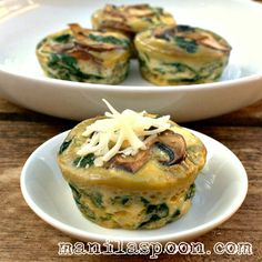 Completely gluten-free and low-carb is this healthy and delicious SPINACH QUICHE CUPS that everyone will enjoy. Perfect for breakfast or brunch!