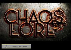 https://flic.kr/p/qDpJ4F | Chaos Lore ::: Splash | Diseñado con Adobe Photoshop y Adobe Illustrator