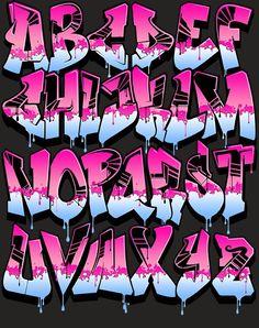 18 Fonts Style of Creator Graffiti Alphabet A-Z