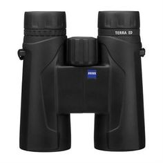 Zeiss 10x42 Terra ED Roof Prism Binocular 6.3 Degree Angle of View Black