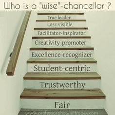 Qualities of the the best Vice- Chancellor.