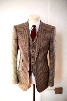 tweed three piece suit - Yahoo Image Search results