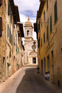 San Quirico d Orcia, Siena Italy
