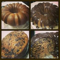 Chocolate Sour Cream Bundt Cake with Chocolate Chips! So moist!