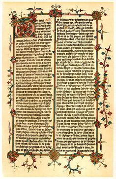 Literature, manuscripts, etc, are pretty important to the story as well. Illuminated manuscripts are always a good idea.