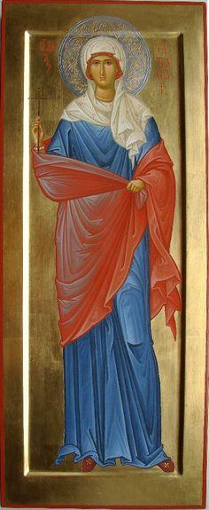 St Tatiana of Rome / Religious Images, Religious Icons, Religious Art, Byzantine Icons, Early Christian, Orthodox Icons, Christianity, Creations, Zen