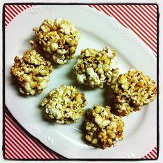 Easy Dairy-Free Caramel Popcorn Balls