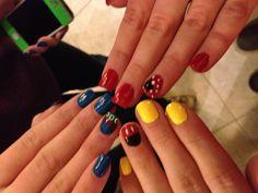 @Melanie Thurman Disney nails