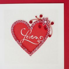 30 Best St Valentine Cards Images On Pinterest Quilling