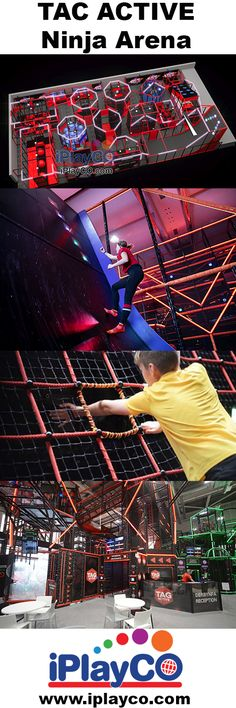 Design, manufacture and install children's play equipment and interactive events for all ages. TAG Active, Cyber Towers and custom designed trampolines. Kids Play Equipment, Park Equipment, Sport Park, Ninja Warrior, Fitness Fun, Indoor Playground, Kids Sports, New Product, Kids Playing