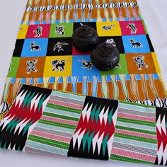This beautifully vibrant table runners will make any space feel alive! All the colors and designs are sure to bring a little bit of Africa to any space. Excellent choice for table decor for an African theme home decor or party.With 2 differe. Main Colors, All The Colors, African Theme, African Home Decor, Printed Curtains, Different Fabrics, Hostess Gifts, Event Decor, Fabric Patterns