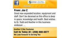 Great  new expanded  location, equipment  and staff.  Don't be deceived as this office is...