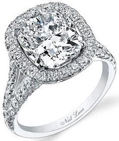 Neil Lane - Browse the bling these celebs wear as their engagement rings - Engagement Ring Celebrity Engagement Rings, Engagement Ring Photos, Wedding Engagement, Wedding Bands, Wedding Ring, Neil Lane Rings, Perfect Wedding, Dream Wedding, Cushion Cut Diamonds