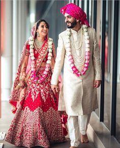 Indian Wedding Photography Poses, Bride Photography, Couple Wedding Dress, Indian Bride And Groom, Bride Groom, Indian Bridal Outfits, Wedding Outfits, Groom Outfit, Groom Dress