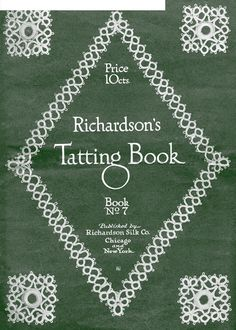 Richardsons tatting book 07  Frivolite Tatting Occhi