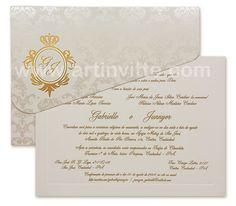 Convites de Casamento Veneza. para orçamentos http://mkt.artinvitte.com/orcamento-vz-042