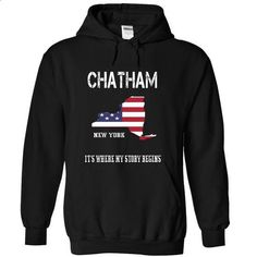 CHATHAM-- Its Where My Story Begins! - #sweater weather #cool sweater. CHECK PRICE => https://www.sunfrog.com/No-Category/CHATHAM--Its-Where-My-Story-Begins-8478-Black-19003669-Hoodie.html?68278