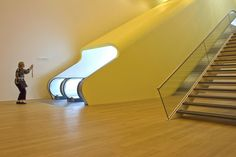Stedelijk Museum Amsterdam in Amsterdam, Netherlands, by Benthem Crouwel Architects (2012), photographed by Matthijs Borghgraef.