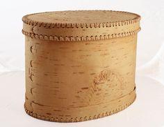 Brotdose aus Birkenrinde groß Vorderansicht Maxim B01 – sagaan