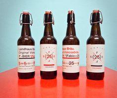 Type Fabric – F-Bier / Landhausbräu zum 25