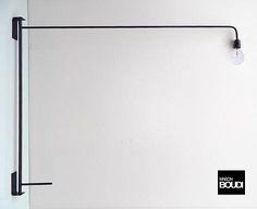 MODERNIST (moderniste)   potence pivotante / swing arm   lampe murale / wall lamp   www.boudi.co.nz