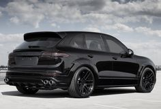 Black beast - Topcar Porsche Cayenne