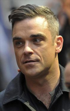 Robbie Williams Hairstyle